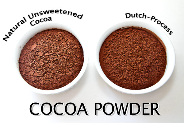 Natural vs Dutched Cocoa
