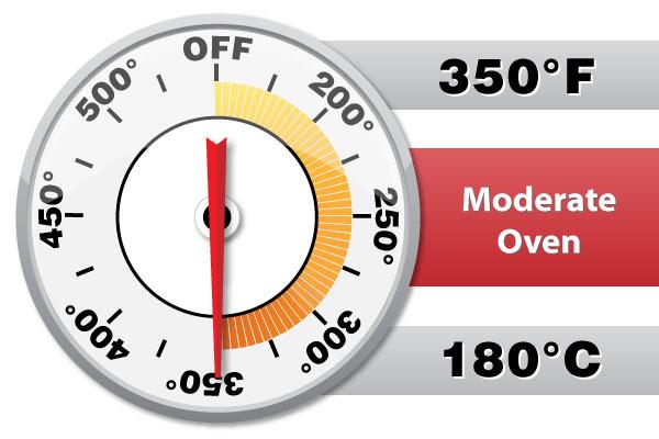 Preheat oven to 350 °F (180 °C).