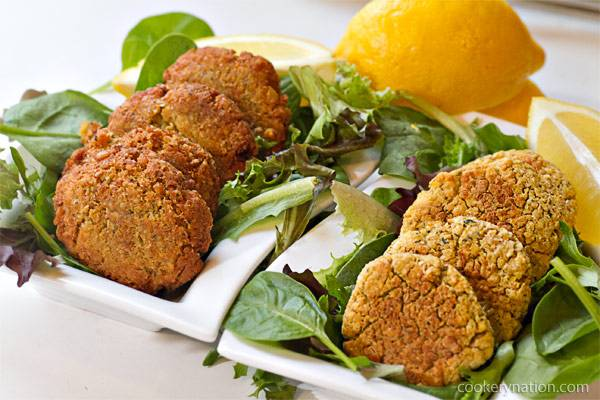 Homemade Chickpea Falafel