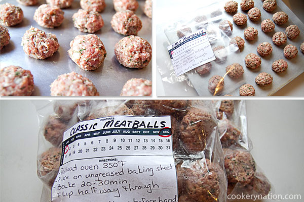 Classic Homemade Meatballs
