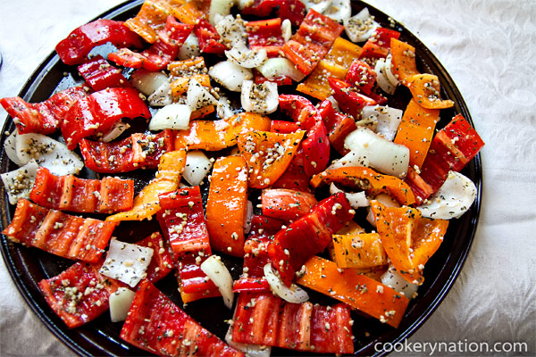 Place in a single layer on a greased baking sheet. Do not overcrowd the pan.