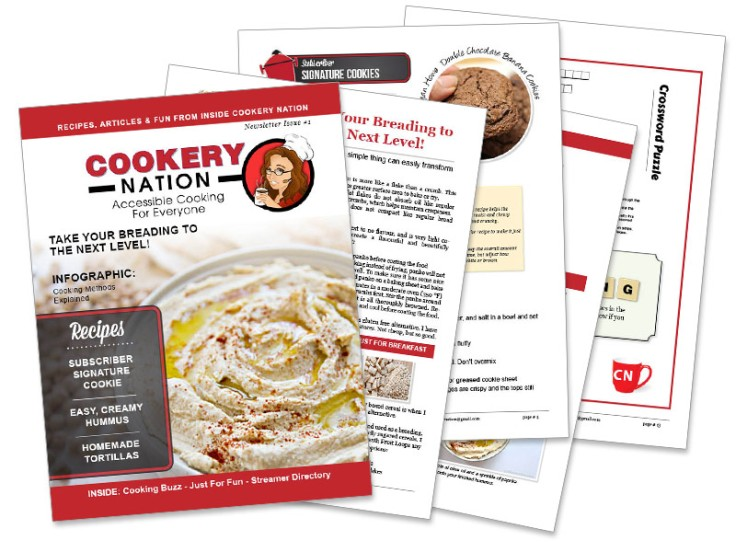 Cookery Nation Issue !