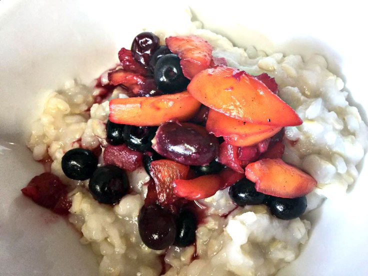 Congee with Fruit